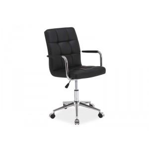 Кресло компьютерное SIGNAL Q-022 черное