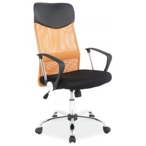 Кресло компьютерное SIGNAL Q-025 оранжево\черное