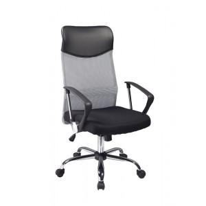 Кресло компьютерное SIGNAL Q-025 серо\черное