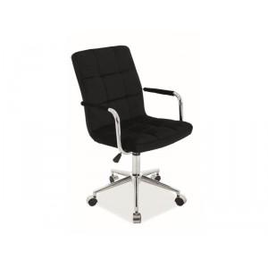 Кресло компьютерное SIGNAL Q-022 VELVET черный