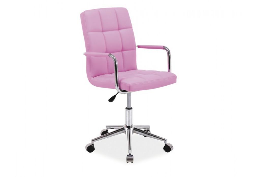 Кресло компьютерное SIGNAL Q-022 розовое