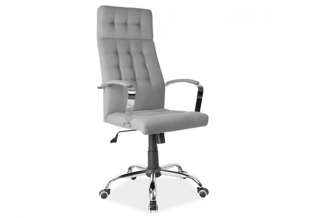 Кресло компьютерное SIGNAL Q-136 серое
