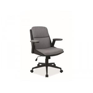 Кресло компьютерное SIGNAL Q-332 серый/черный