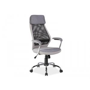 Кресло компьютерное SIGNAL Q-336 серое\черное