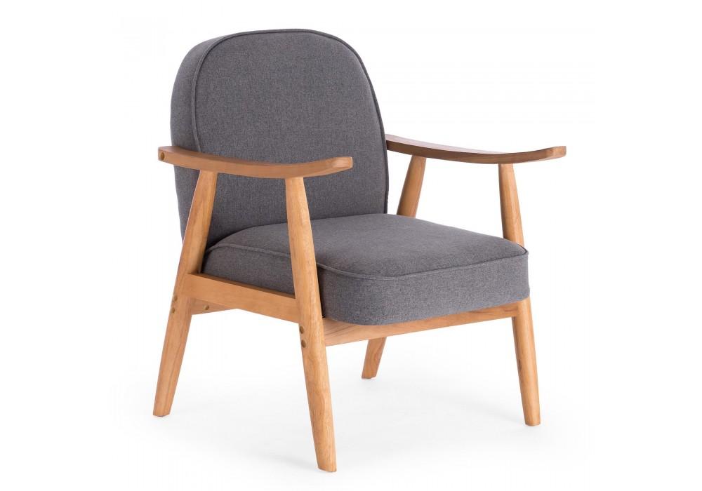 Кресло HALMAR RETRO серый
