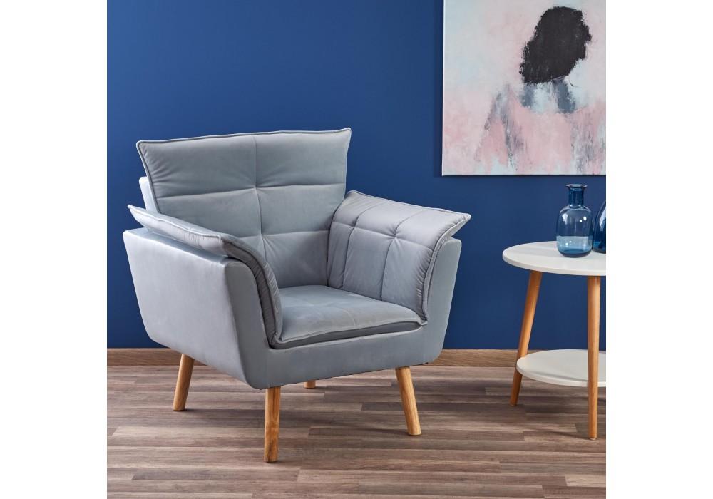 Кресло HALMAR REZZO серый