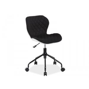 Кресло компьютерное SIGNAL RINO бело/черное