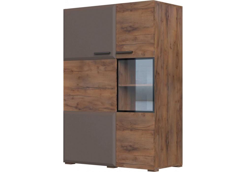 Тумба 2 двери 950 Рио модульная (Таксус/Смоки Софт)   фабрика  Браво Мебель