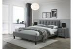 Кровать HALMAR SAMARA 2 серый/орех, 160/200