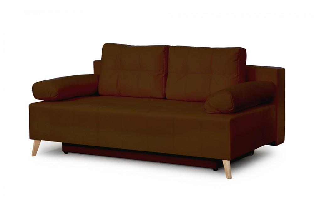 Диван-кровать Сидней (Мора темно-коричневый)