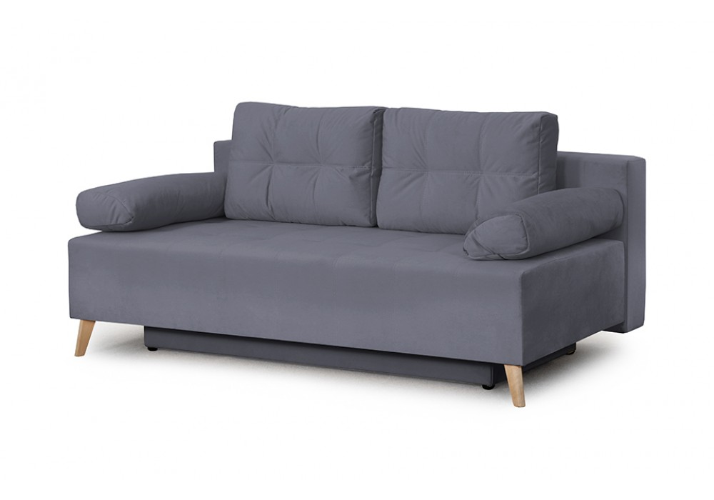 Диван-кровать Сидней (Альба темно-серый)