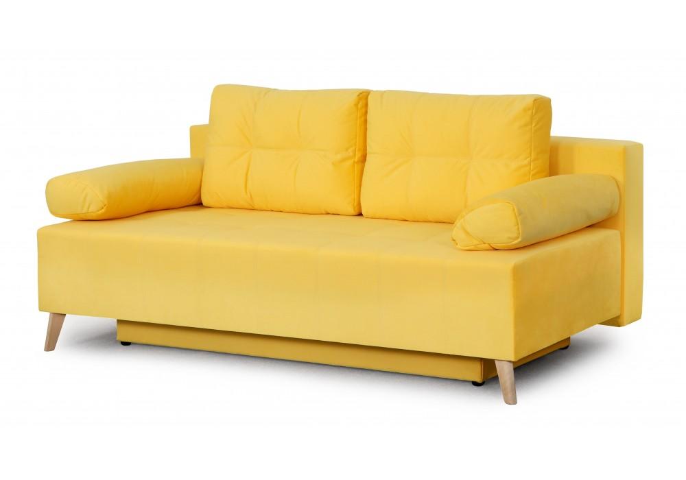 Диван-кровать Сидней (Мора желтый)