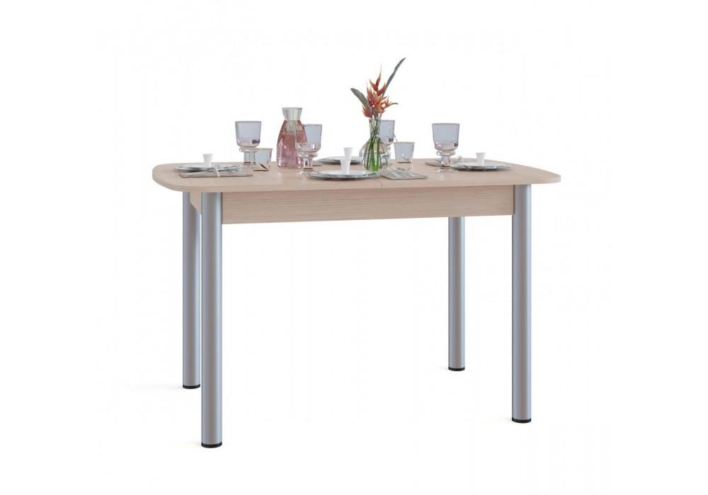 Стол обеденный Сокол СО-3м беленый дуб