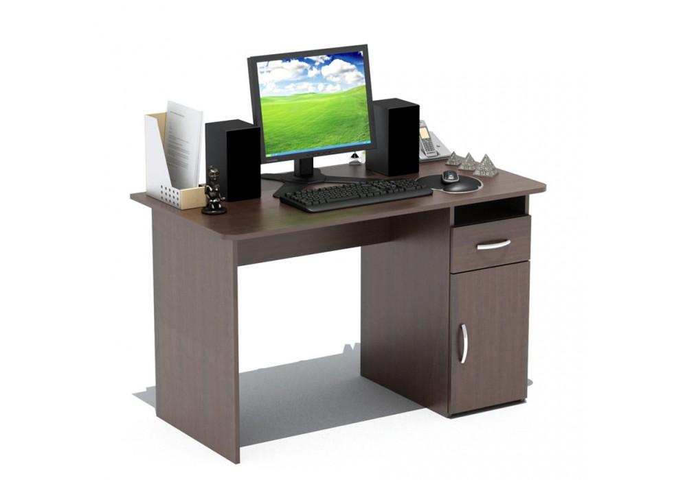 Стол письменный с тумбой Сокол СПм-03.1 венге
