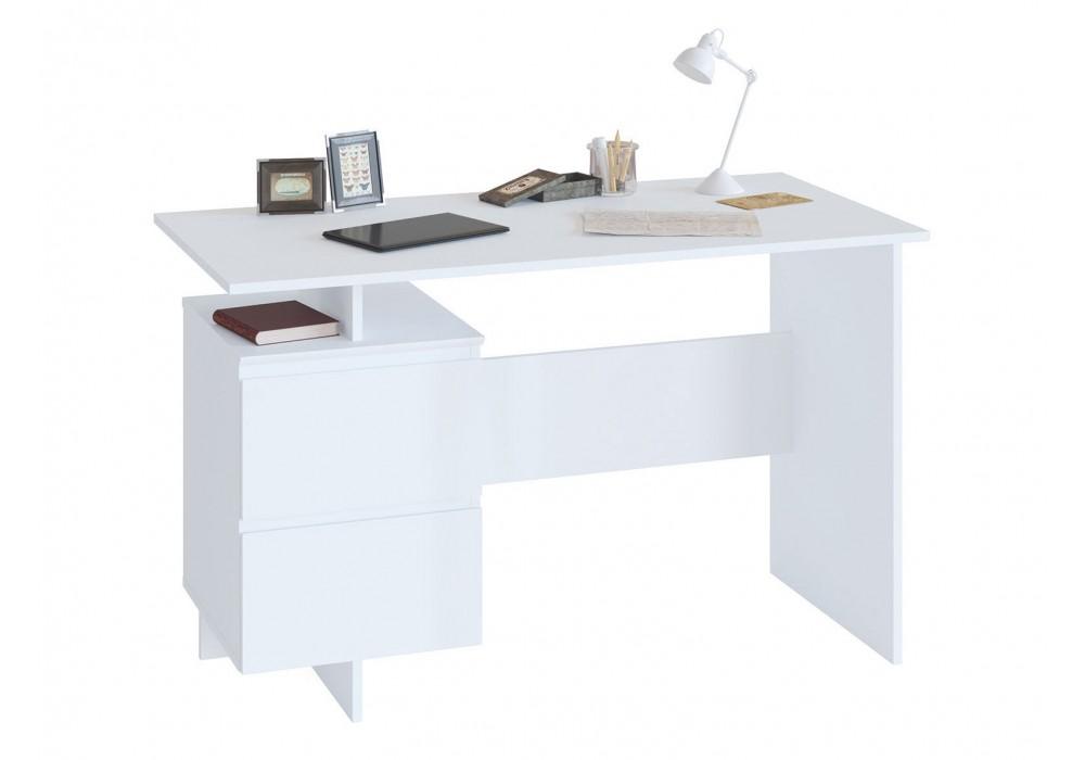 Стол письменный Сокол СПм-19 белый