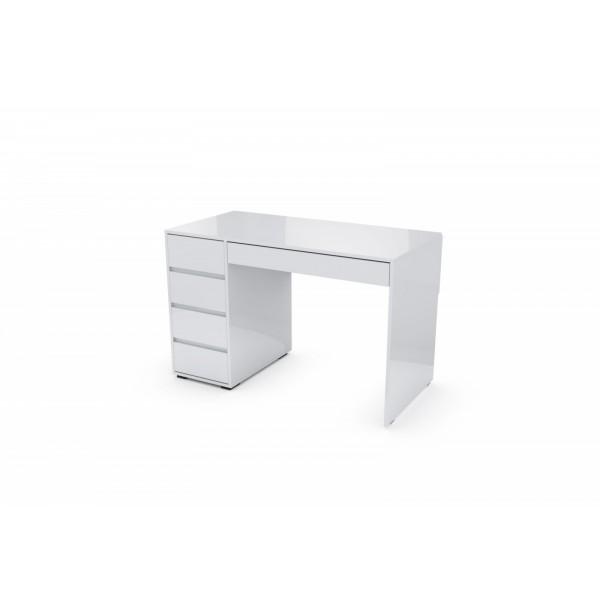 Стол компьютерный SV-МЕБЕЛЬ К №13 Белый глянец