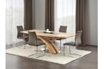 Стол обеденный HALMAR SANDOR раскладной, золотой дуб, 160-220/90/77