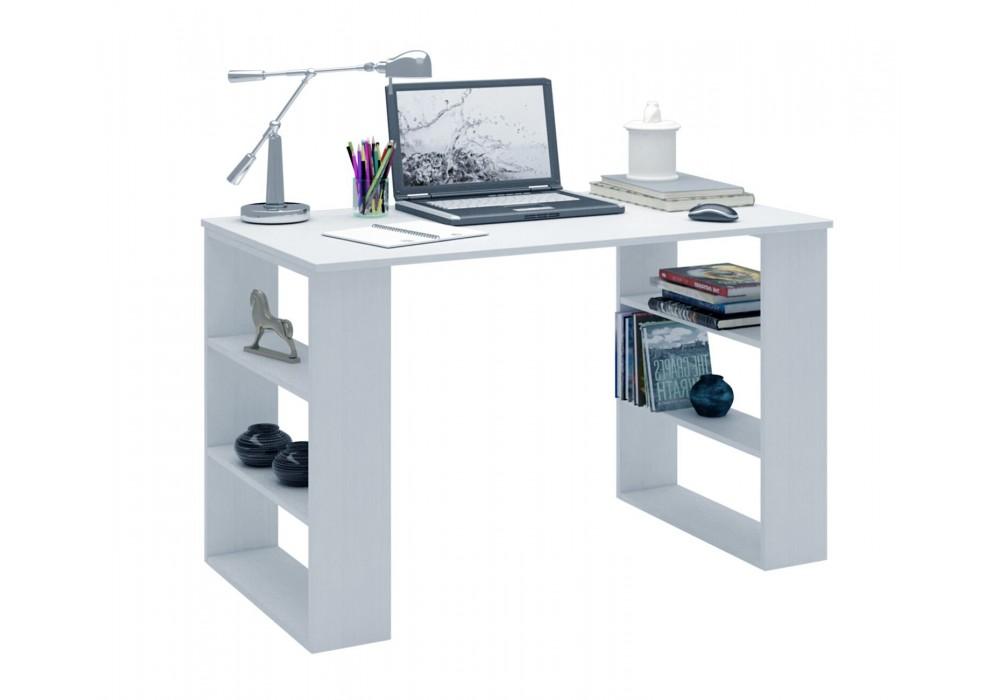 Стол письменный MFMaster Рикс-7 (белый)