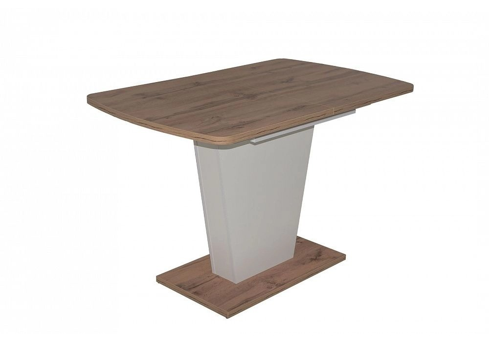 Стол раздвижной на опоре Sheldon, 1180(1570)*720*760, (дуб натуральный)