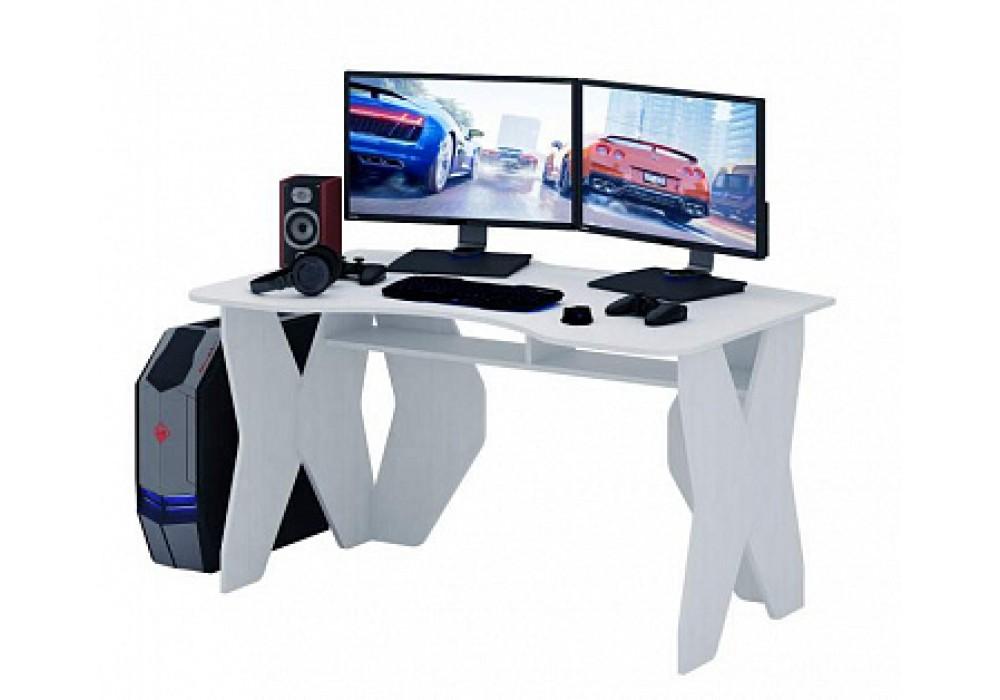 Стол игровой MFMaster Таунт-1 (белый)