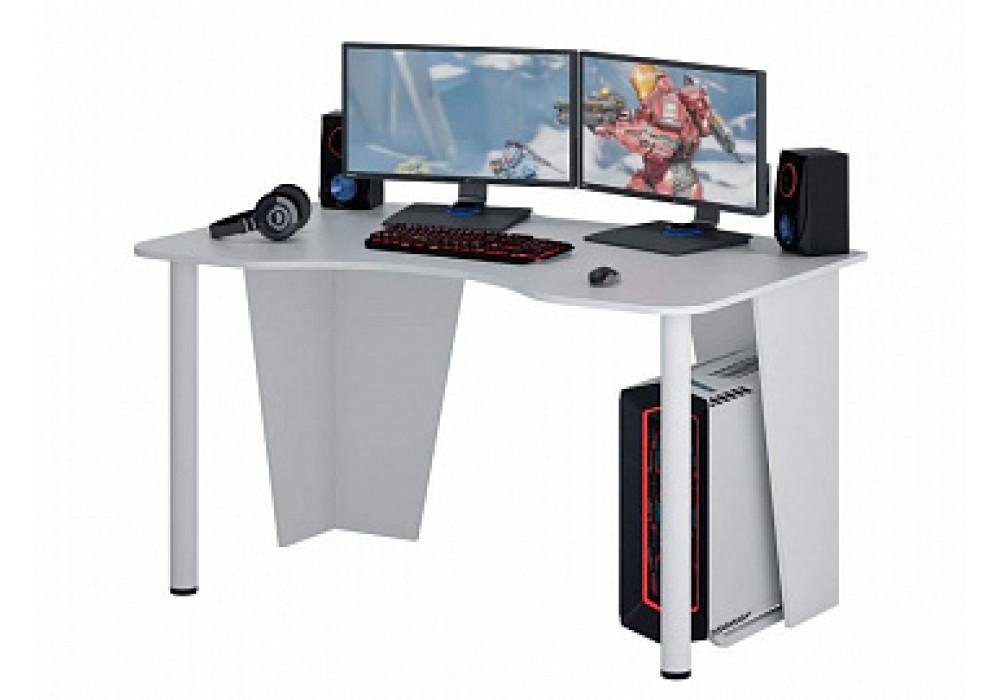 Стол игровой MFMaster Таунт-2 (белый)