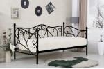Кровать HALMAR SUMATRA черный, 90/200
