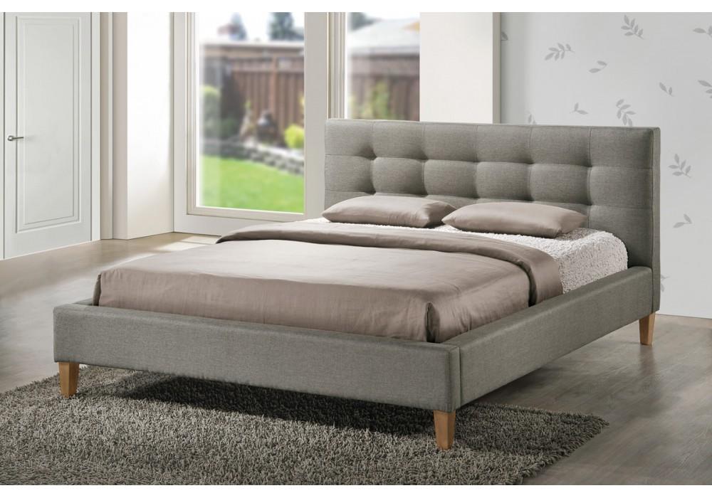 Кровать SIGNAL TEXAS серая 160