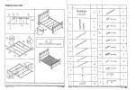 Кровать SIGNAL VENECJA 2OS. античная черешня 160/200