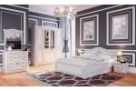 кровать Мебельград Верона 160x200 (капучино/кофе)