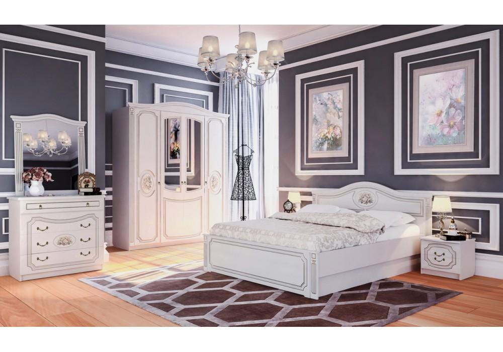 Спальня МС Верона Мебельград (Капучино/кофе )
