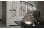 """Гостиная """"Версаль"""" модульная (белый/белый текстурный) фабрики SV-мебель"""