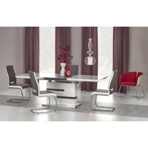 Стол обеденный Halmar MONACO, раскладной (бело-серый)