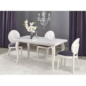 Стол обеденный Halmar MOZART 160 раскладной (белый)