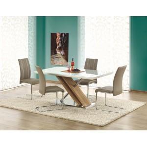 Стол обеденный Halmar NEXUS (белый/дуб сонома)