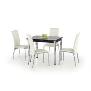 Стол обеденный Halmar LOGAN (черный)