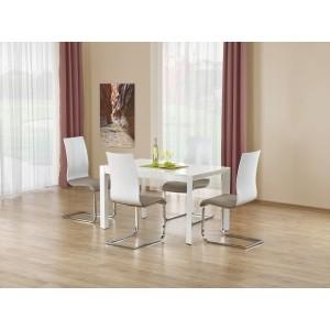 Стол обеденный Halmar STANFORD, раскладной (белый)