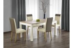 Стол обеденный Halmar SEWERYN (дуб сонома/белый)