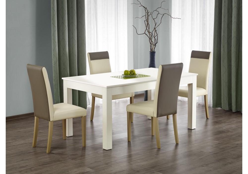 Стол обеденный Halmar SEWERYN 160/300 раскладной (белый)