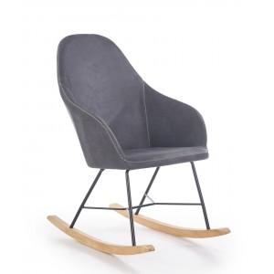 Кресло Halmar LAGOS (темно-серый)