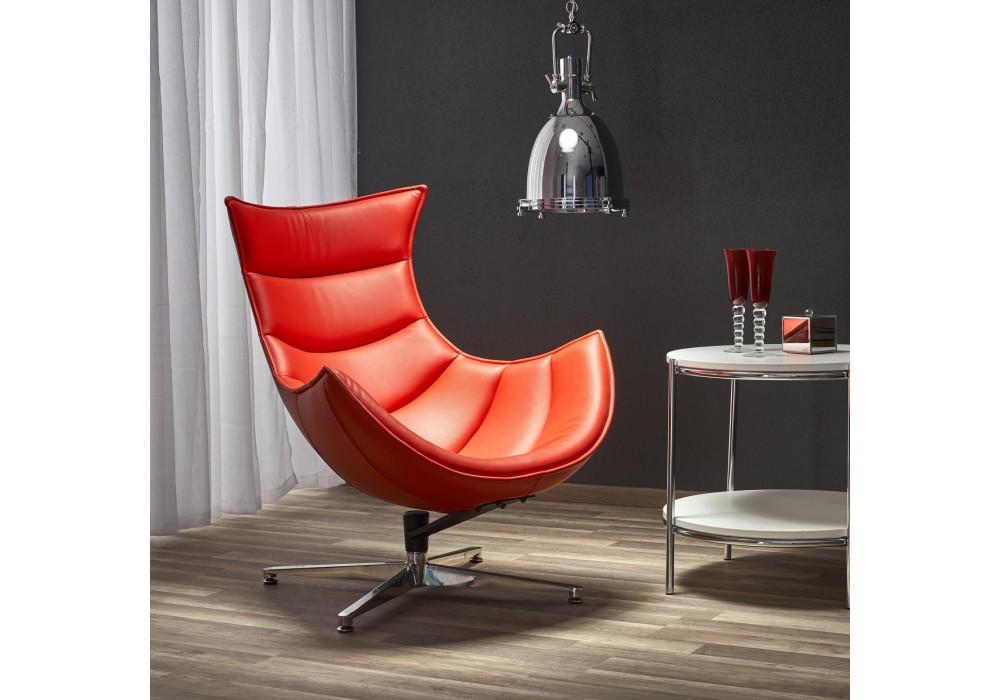Кресло HALMAR LUXOR красный