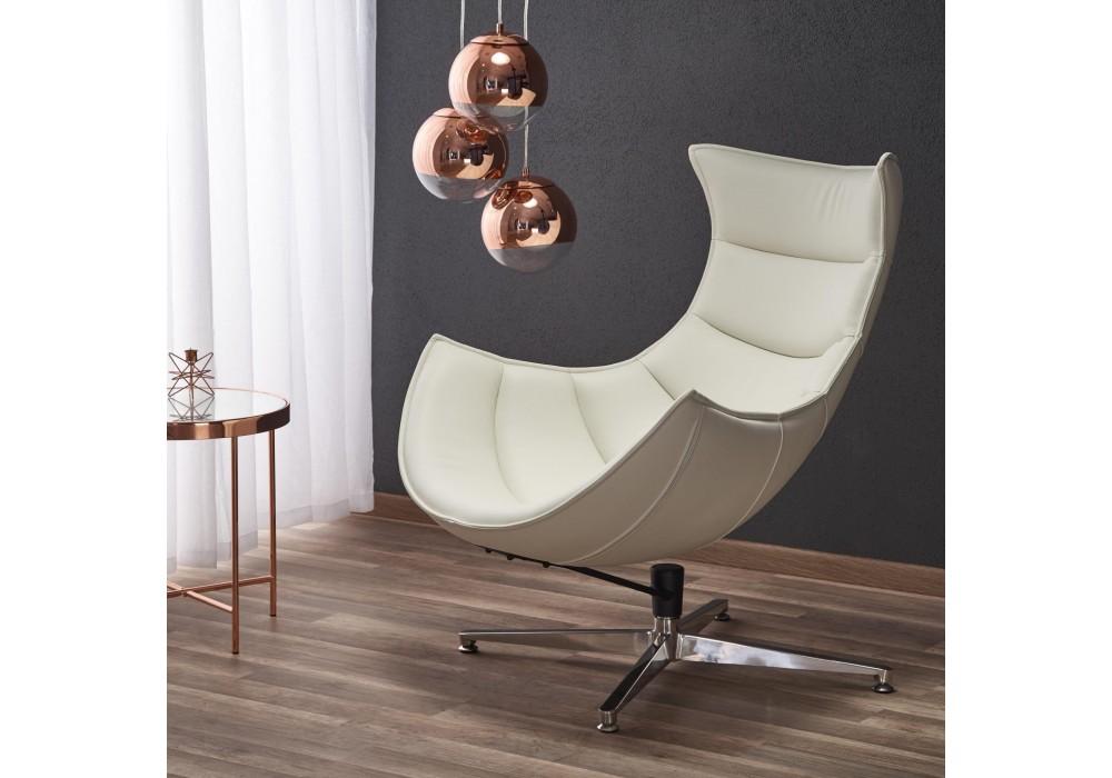 Кресло Halmar LUXOR (белый)