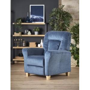 Кресло Halmar BARD (темно-синий)