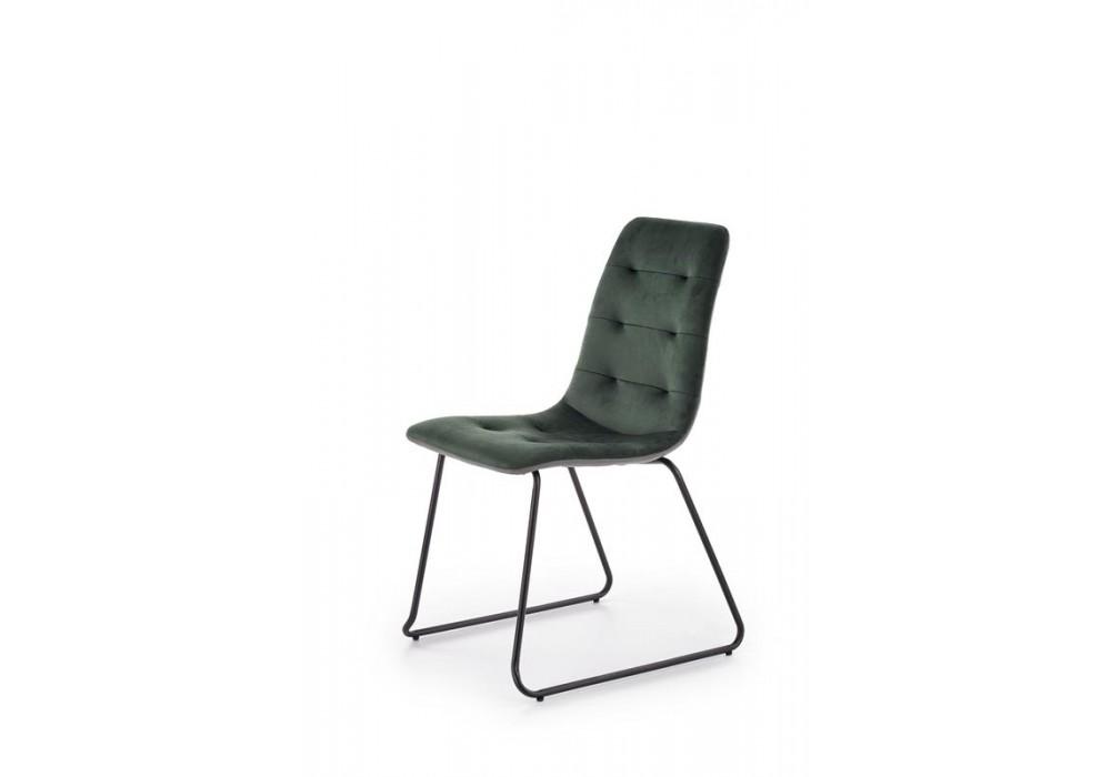Стул HALMAR K321 зеленый/черный